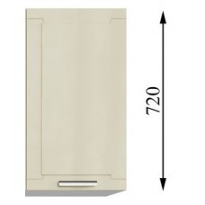 Шкаф навесной (с одной створкой) 600/912
