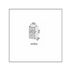 Шкаф навесной (со стеклом) 350/720