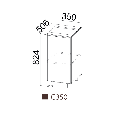 Стол-рабочий 350